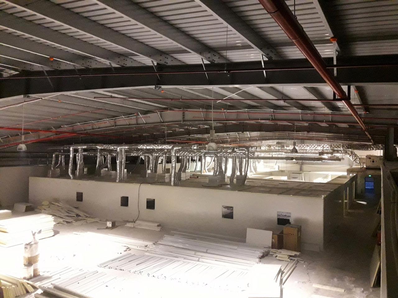 Hệ thống HVAC nhà máy